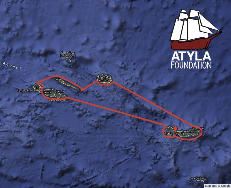 Sailing Trip Sailing Trip Around The Azores Islands Atyla Ship Foundation